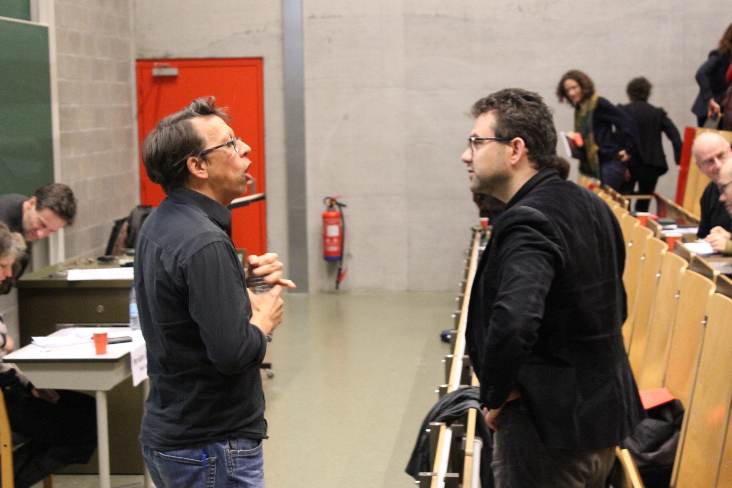 Jacques Moriau et Matthieu Hély